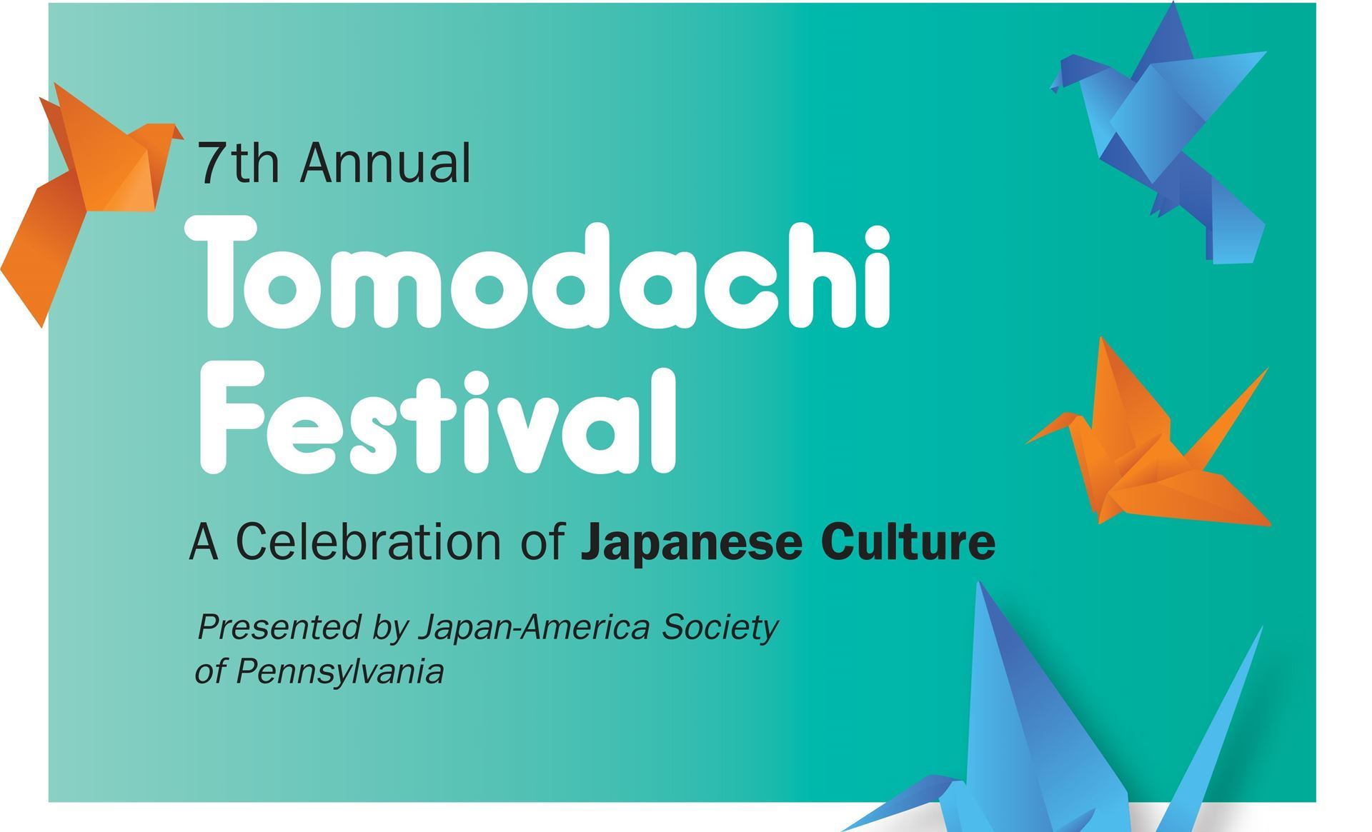 "Tomodachi is a Japanese word meaning ""friends."" Help us celebrate the  spirit of friendship through activities, art and food that showcase Japan,  ..."